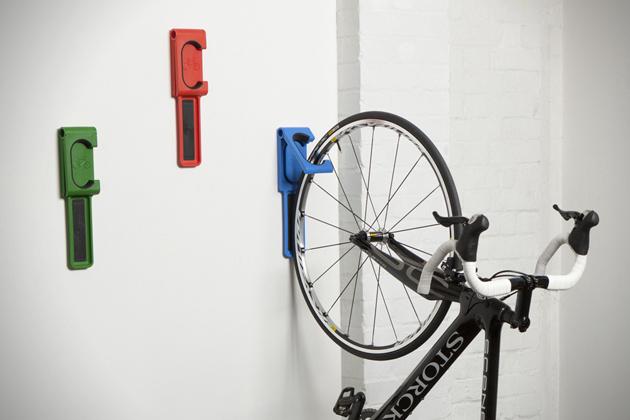 Beside Sport - Endo: Le porte vélo mural stylé - De la couleur en prime du côté pratique! -
