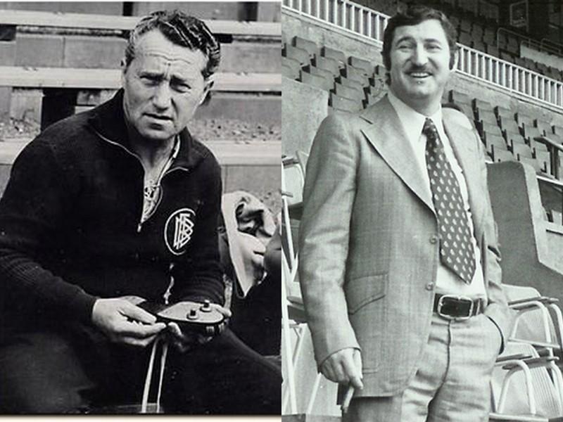 Beside Sport - Adidas et Puma: Les deux frères ennemis - Adi à gauche et Rudolf à droite -