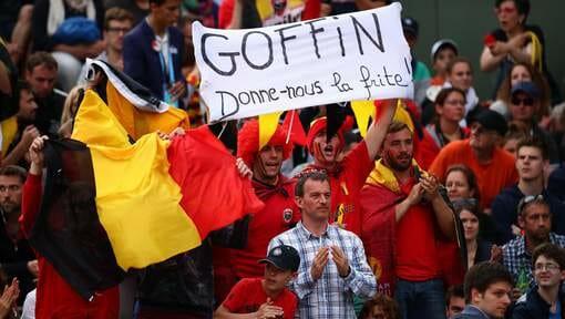 Beside Sport - Visiteurs de Roland-Garros, habillez-vous! - Les supporters belges toujours au rendez-vous  -