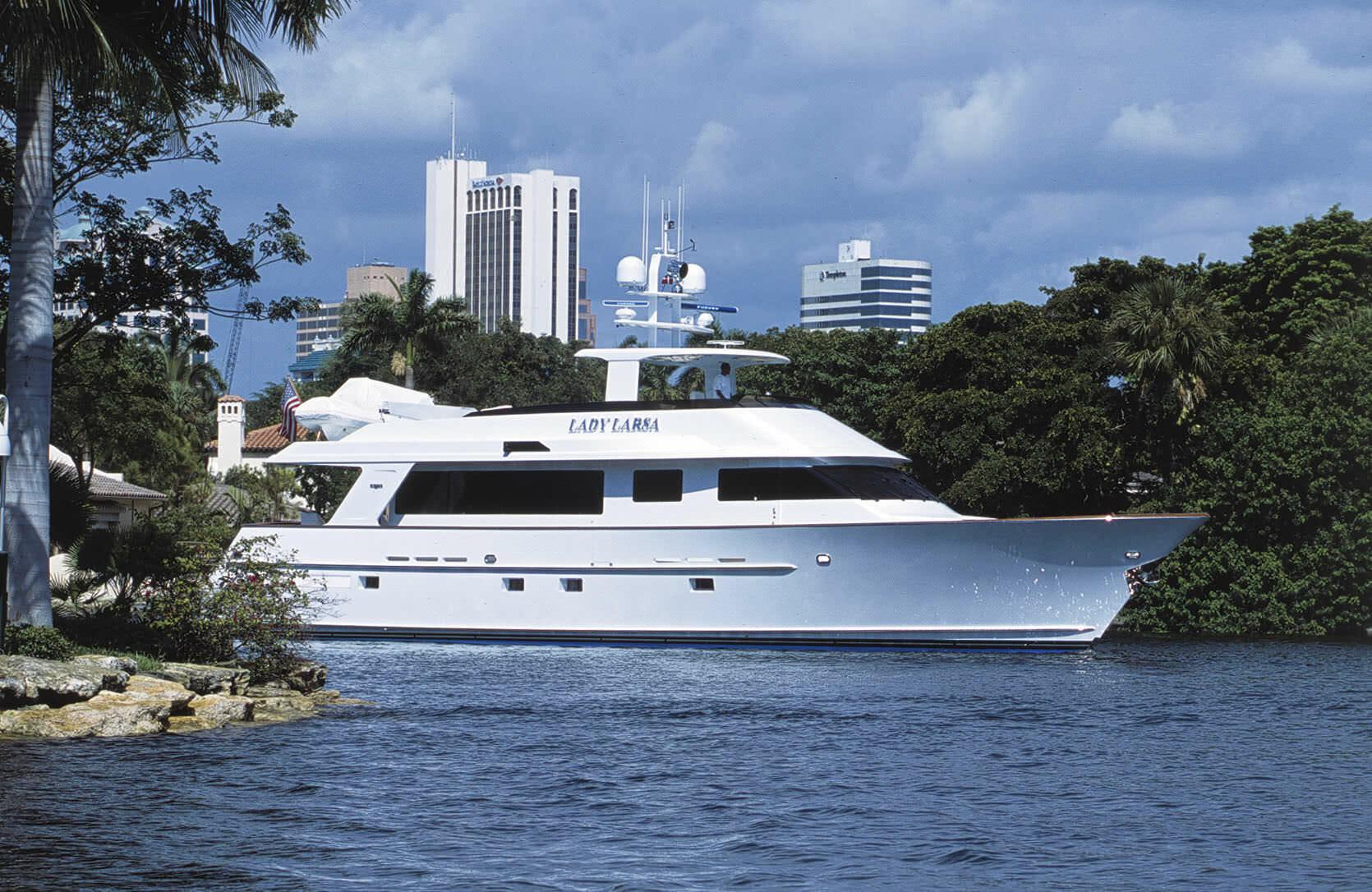 Beside Sport - Ces sportifs qui possèdent un yacht - L'ancien joueur de basket a nommé son yacht Lady Larsa en hommage à sa femme  -