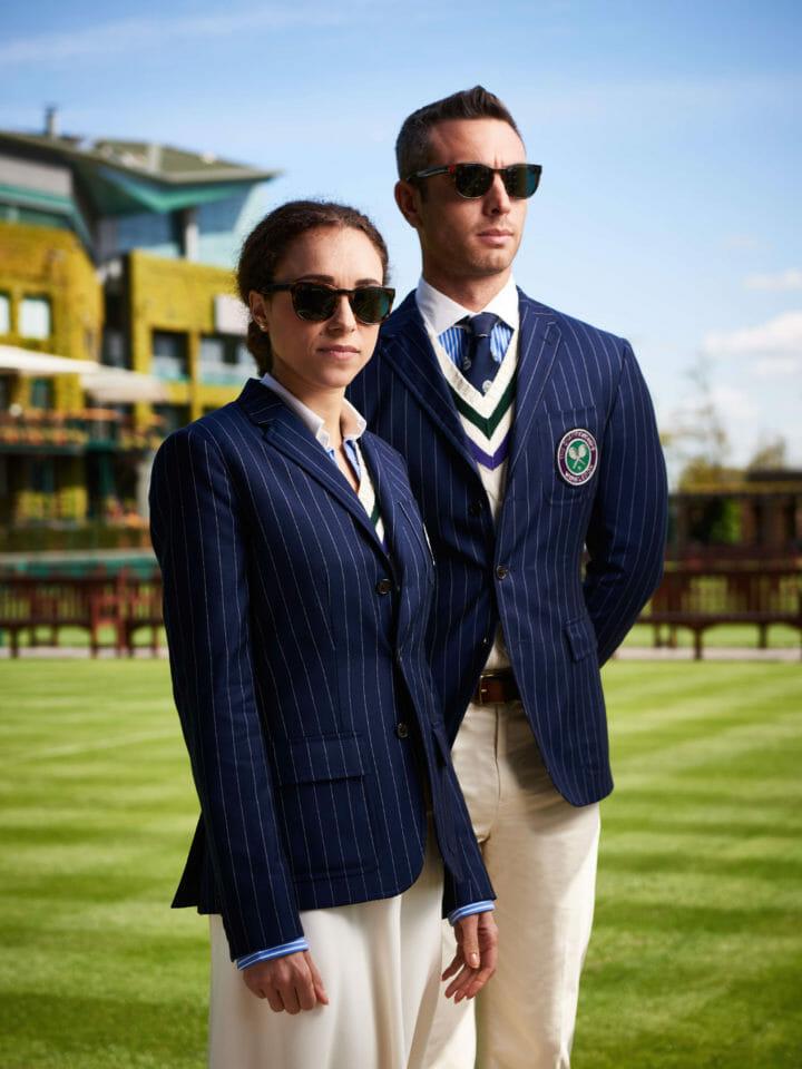 Beside Sport - Peut-on jouer au tennis en Ralph Lauren? - Les tenues officielles des arbitres lors de Wimbledon 2016 -