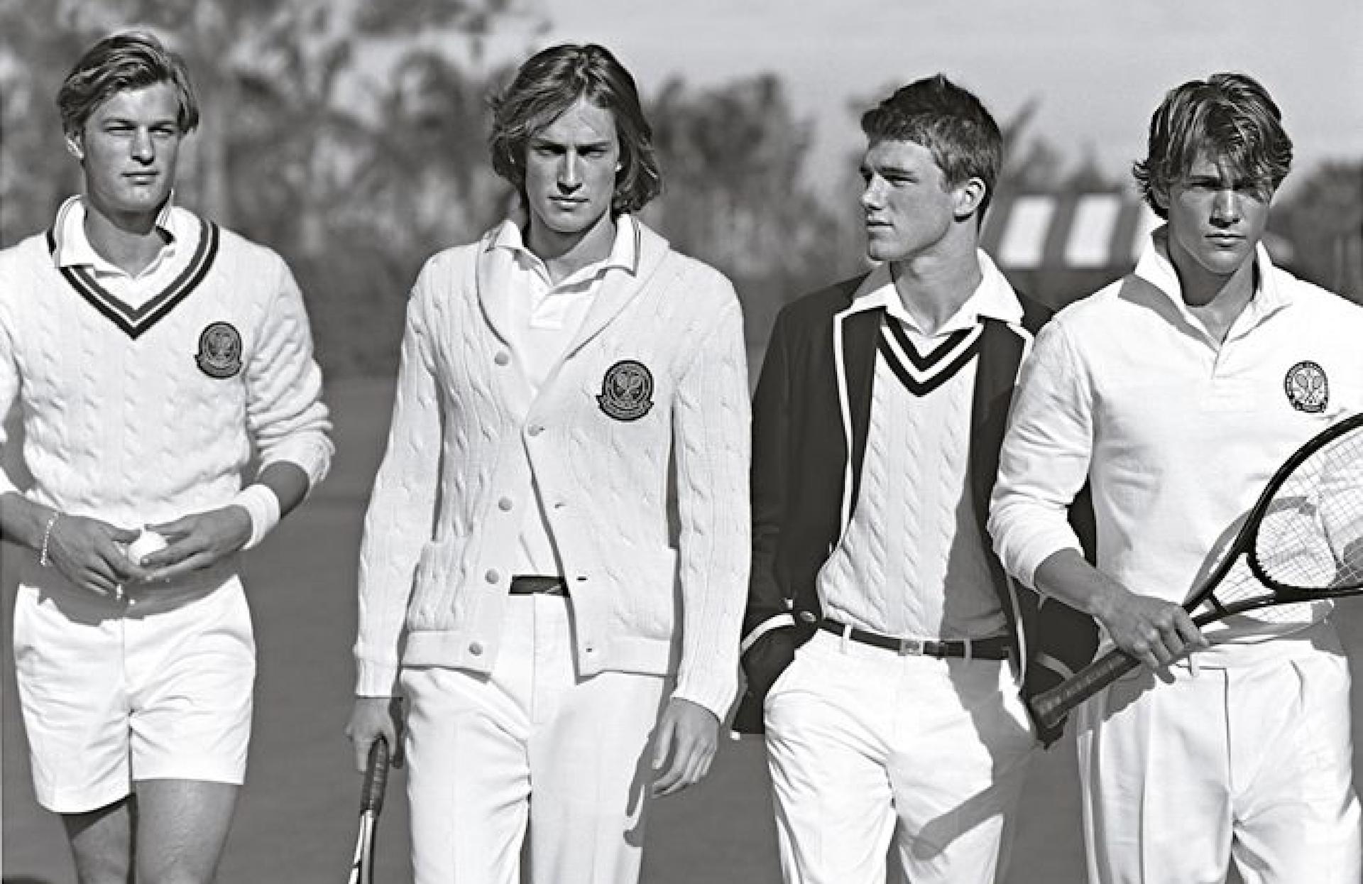 Peut-on jouer au tennis en Ralph Lauren?