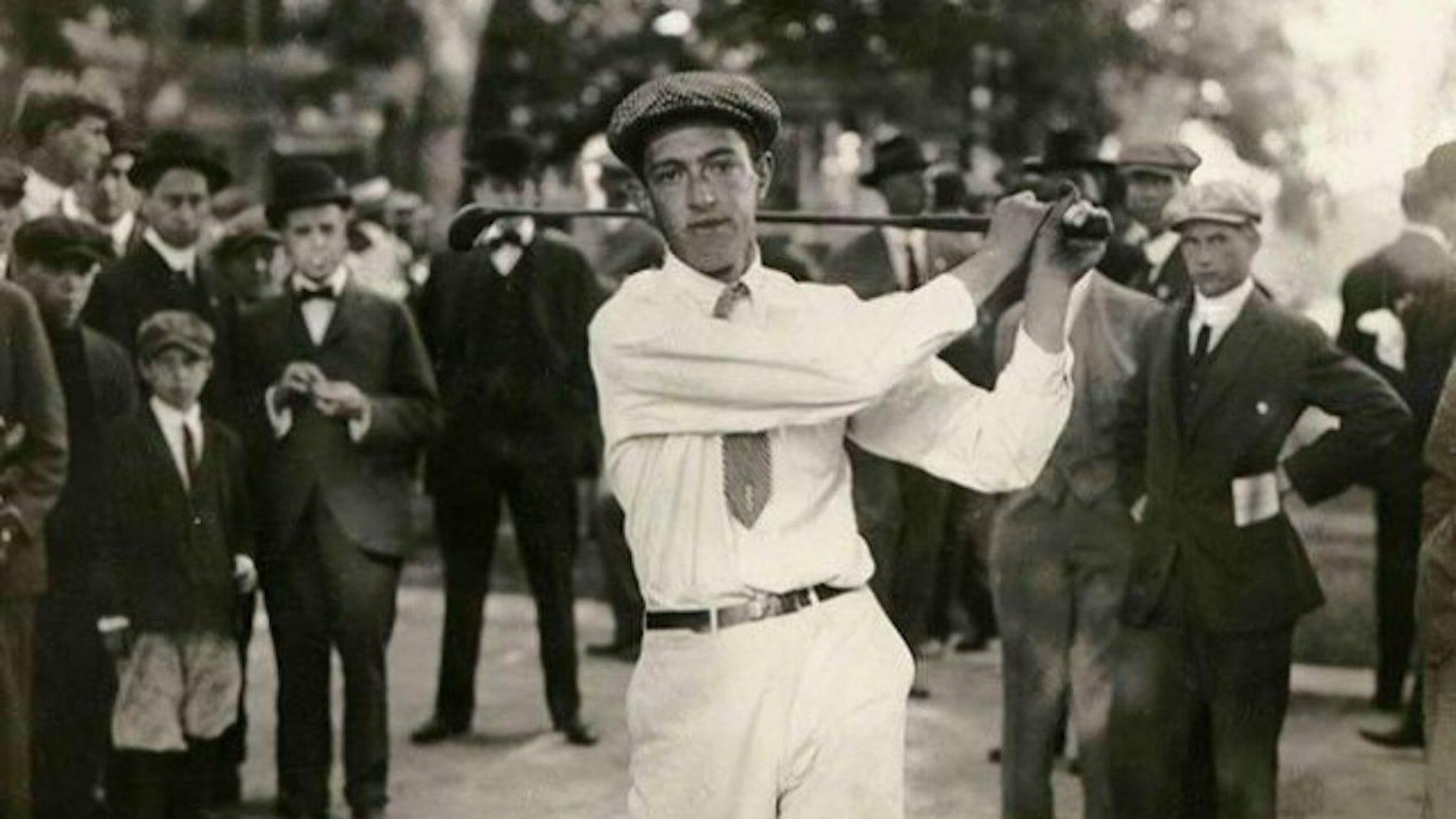 Francis Ouimet, premier amateur à remporter l'US Open de golf