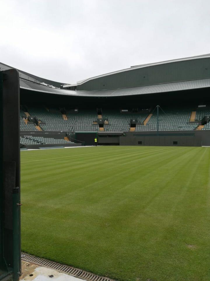 Beside Sport - Découvrez Wimbledon avant le tournoi - Il ne manque plus que le filet  -