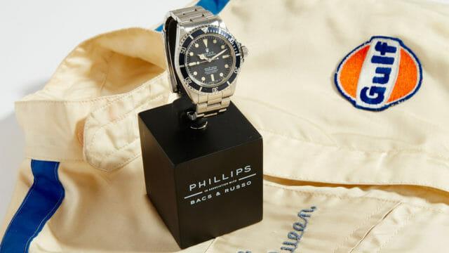 Beside Sport - Une Rolex Submariner ayant appartenu à Steve McQueen aux enchères -