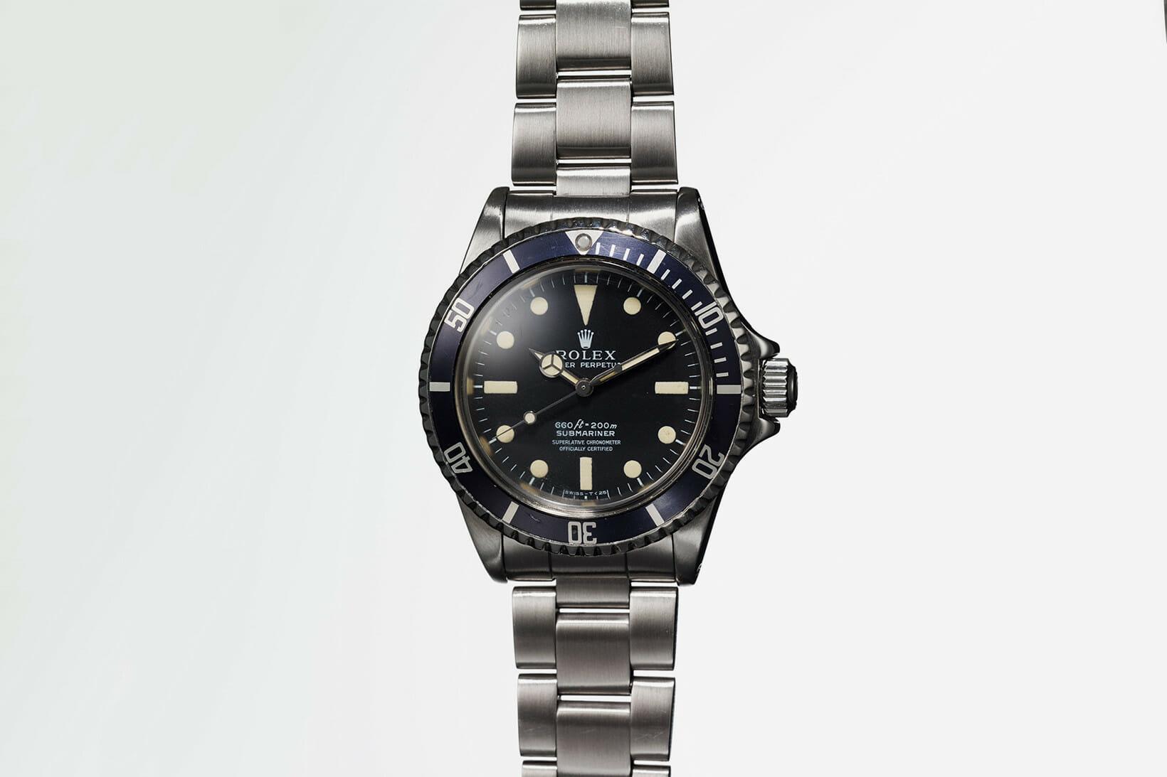 Beside Sport - Une Rolex Submariner ayant appartenu à Steve McQueen aux enchères - Cette montre a été complètement restaurée par Rolex après un incendie -