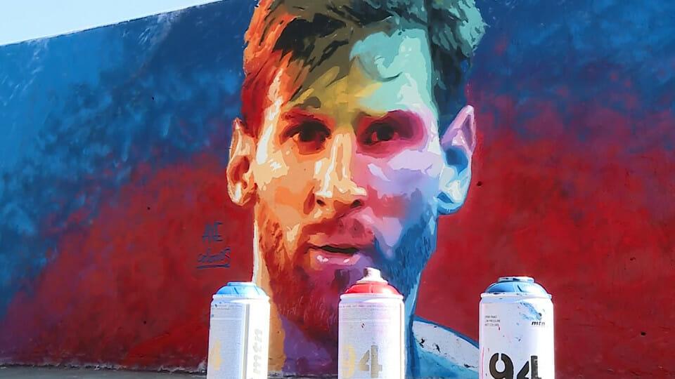 Beside Sport - Quand les stars du sport s'affichent sur une fresque murale -  -