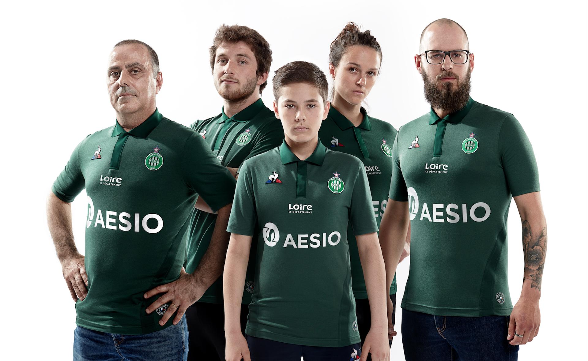 Le Coq Sportif nous présente le nouveau maillot des Verts