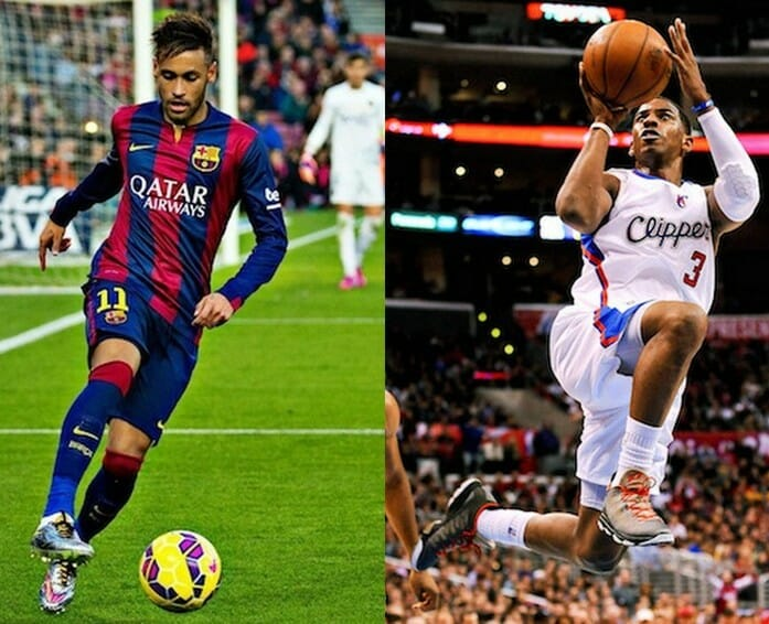 Beside Sport - Quand une star du football a son équivalent en NBA -  -