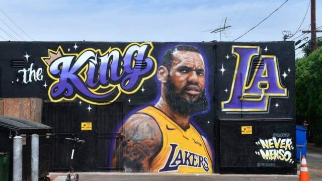 Beside Sport - Quand les stars du sport s'affichent sur une fresque murale -