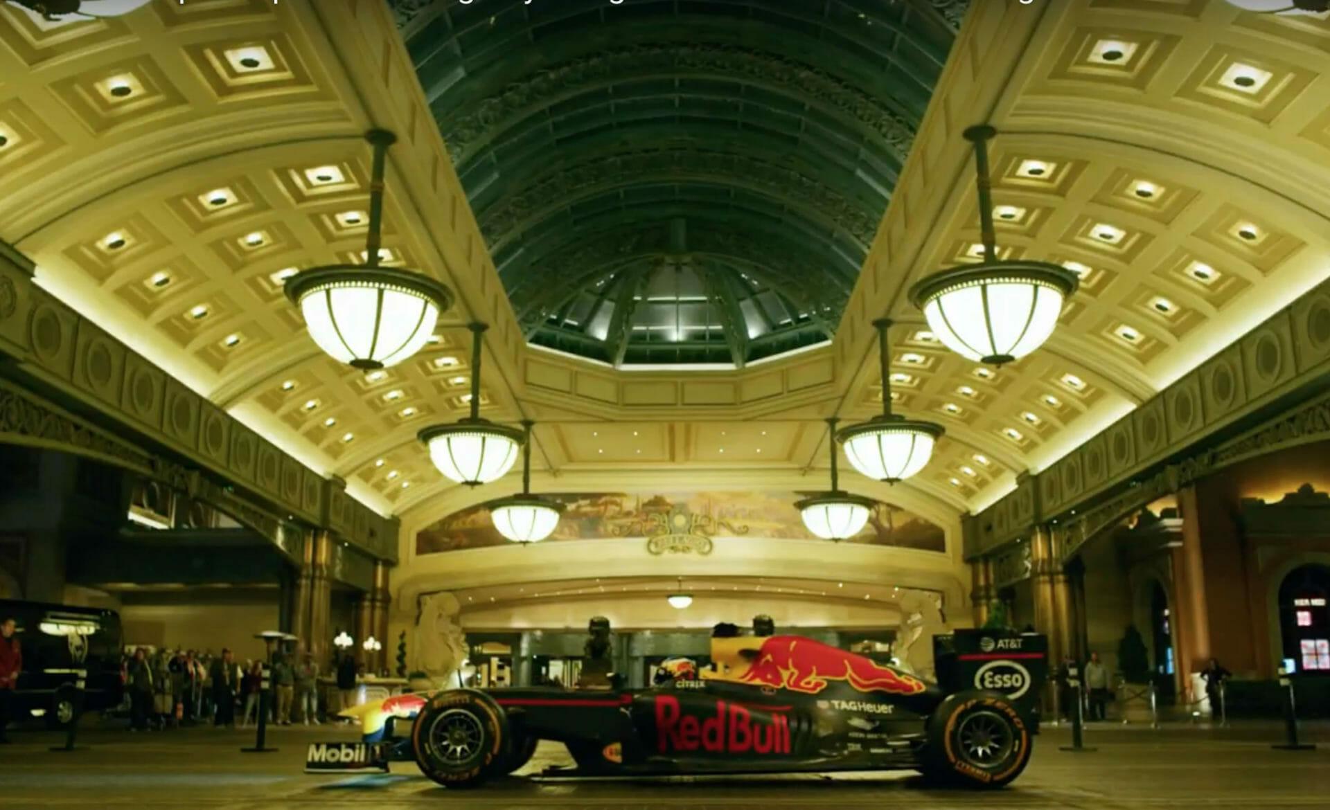 Beside Sport - Ces endroits insolites visités par les F1 Red Bull -