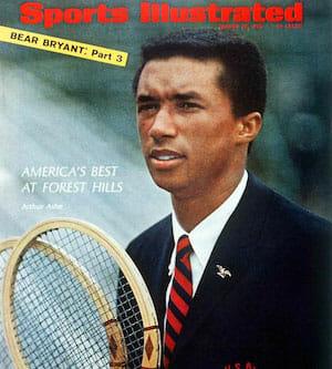 Beside Sport - Retour sur un monstre du sport: Arthur Ashe alias «Aces» - Arthur Ashe, à 17 ans, en couverture de Sports Illustrated -