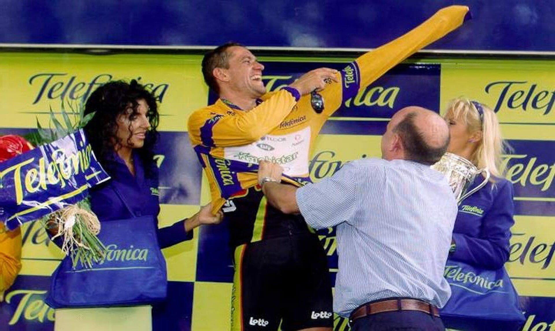 Le maillot de leader de la Vuelta n'a pas toujours été rouge