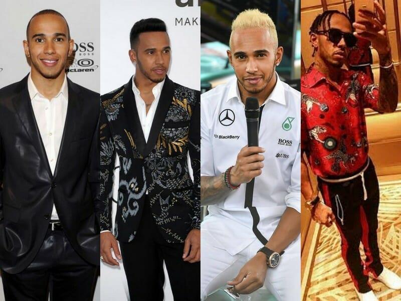 Beside Sport - Le «Sport It-boy» de la semaine est Lewis Hamilton - L'évolution des coiffures du pilote de F1 -