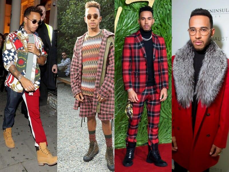 Beside Sport - Le «Sport It-boy» de la semaine est Lewis Hamilton - A chaque fashion week, Lewis Hamilton fait dans l'originalité -