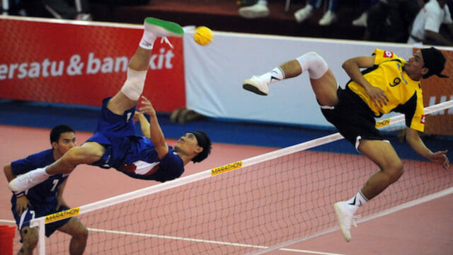 Beside Sport - Focus sur le Sepak Takraw -