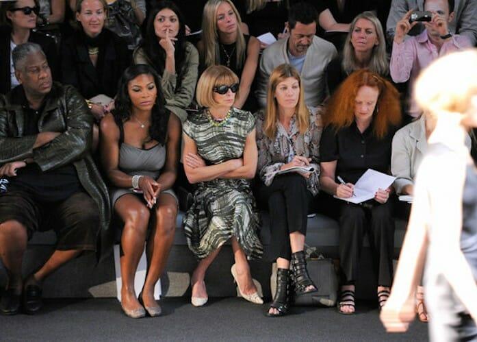 Beside Sport - Ces sportifs au «Front Row» lors de la fashion week -  -