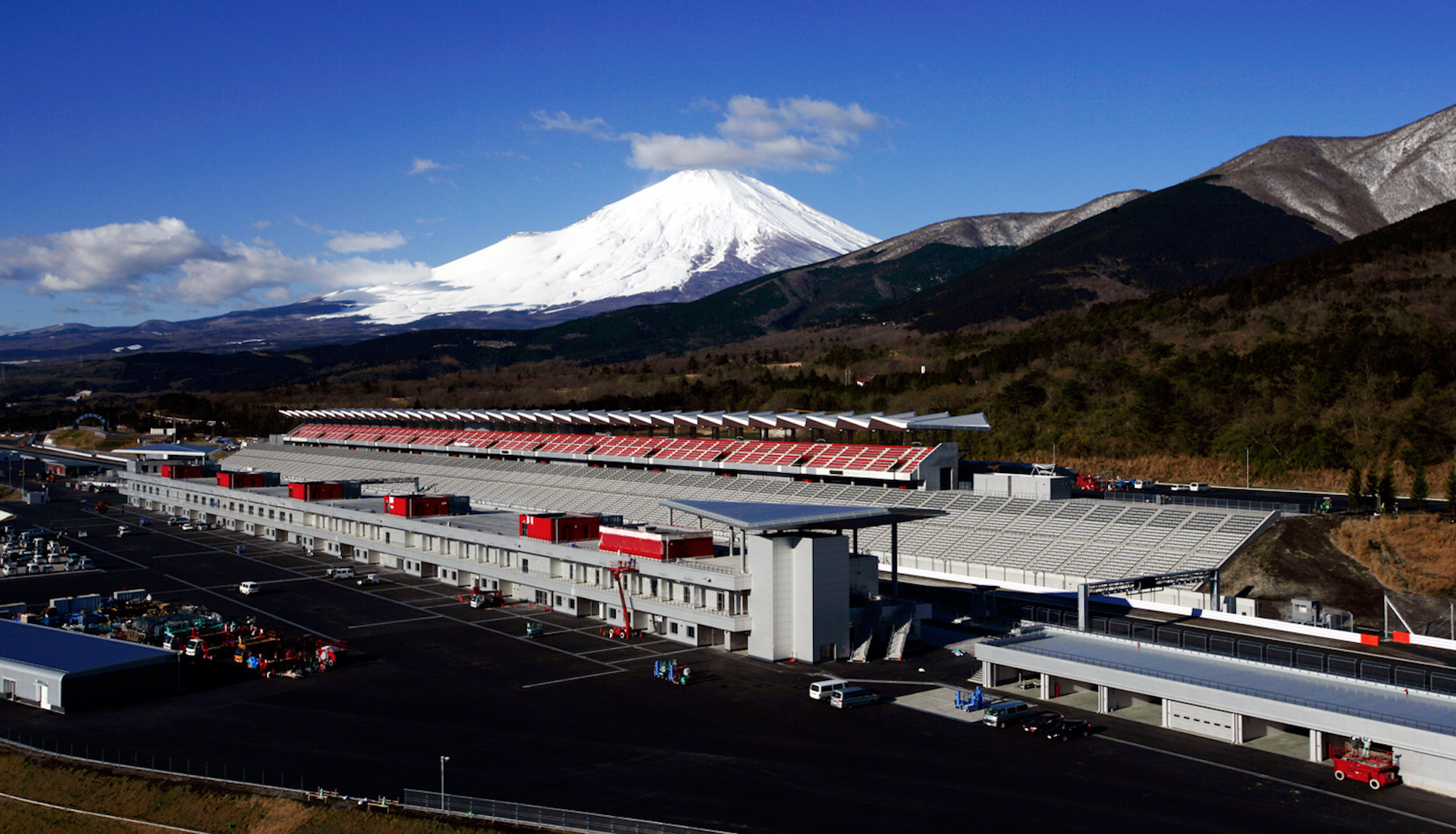 Quand le GP du Japon se déroulait à Fuji