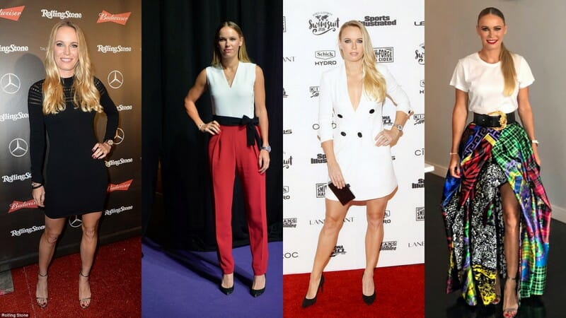 Beside Sport - La « Sport It-Girl » de la semaine est Caroline Wozniacki -  -