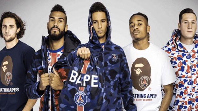 Beside Sport - Le PSG, club roi des collaborations avec les marques de mode -