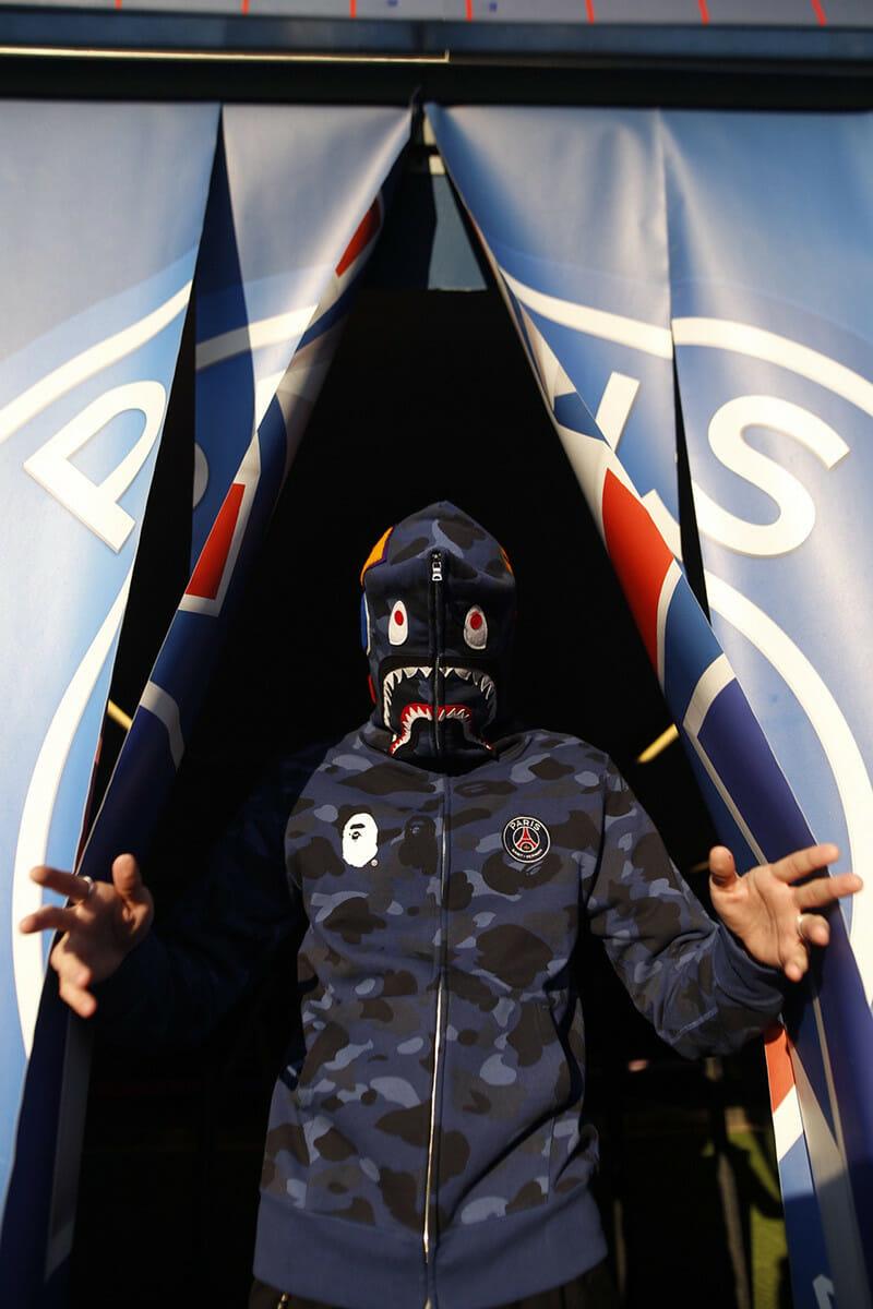Beside Sport - Le PSG, club roi des collaborations avec les marques de mode -  -
