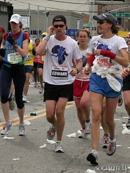 Beside Sport - Les célébrités qui ont couru le marathon de NYC -  -