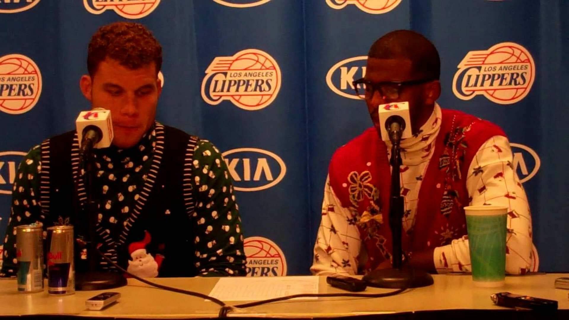 La NBA surf sur l'esprit de Noël avec ses «Christmas Sweaters»