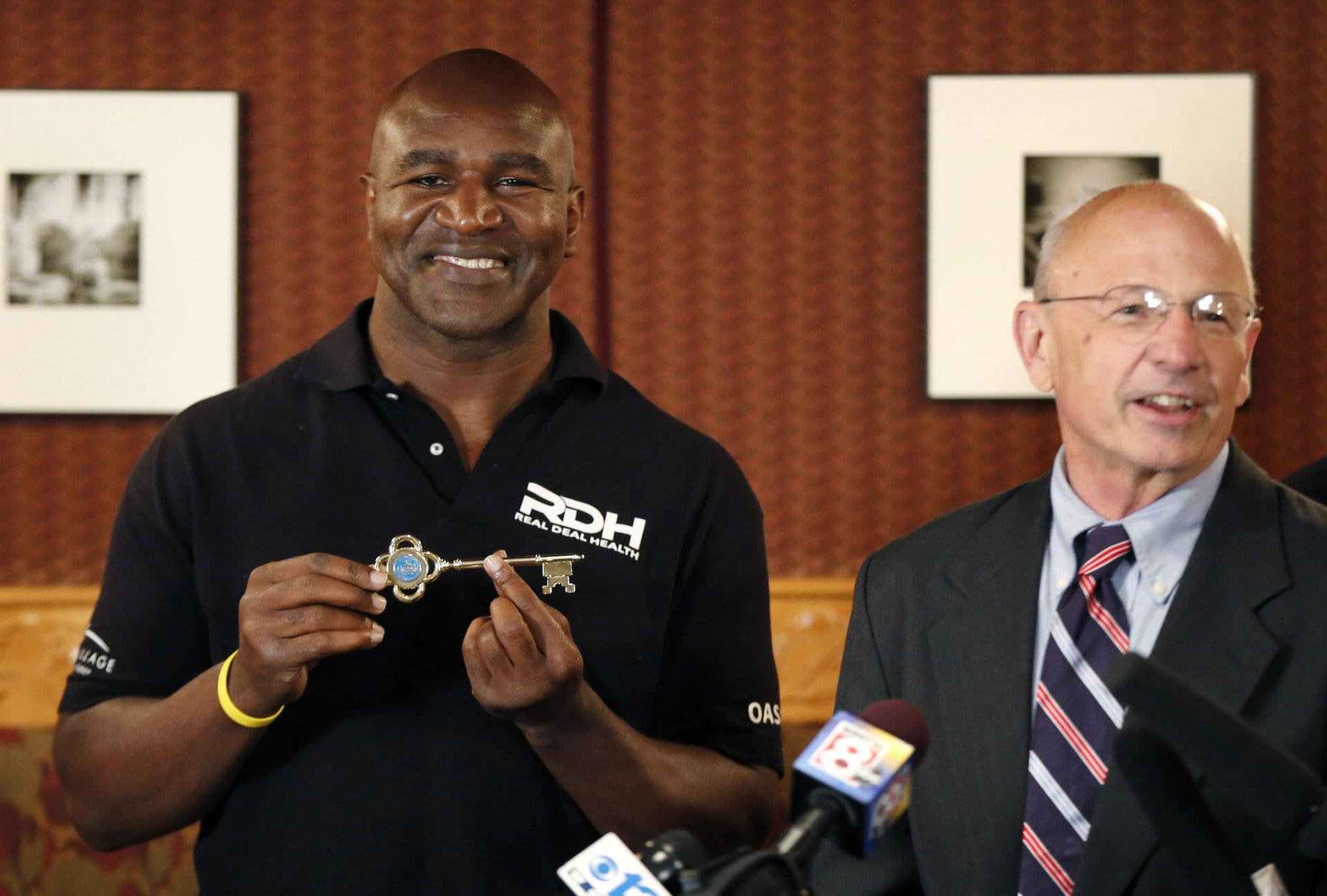 Beside Sport - Ces sportifs qui ont obtenu la clé d'une ville aux USA -  -