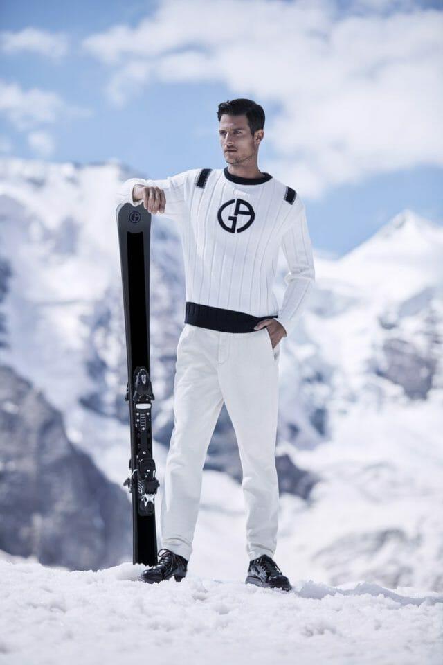 Beside Sport - Peut-on descendre les pistes habillé en Giorgio Armani? -  -