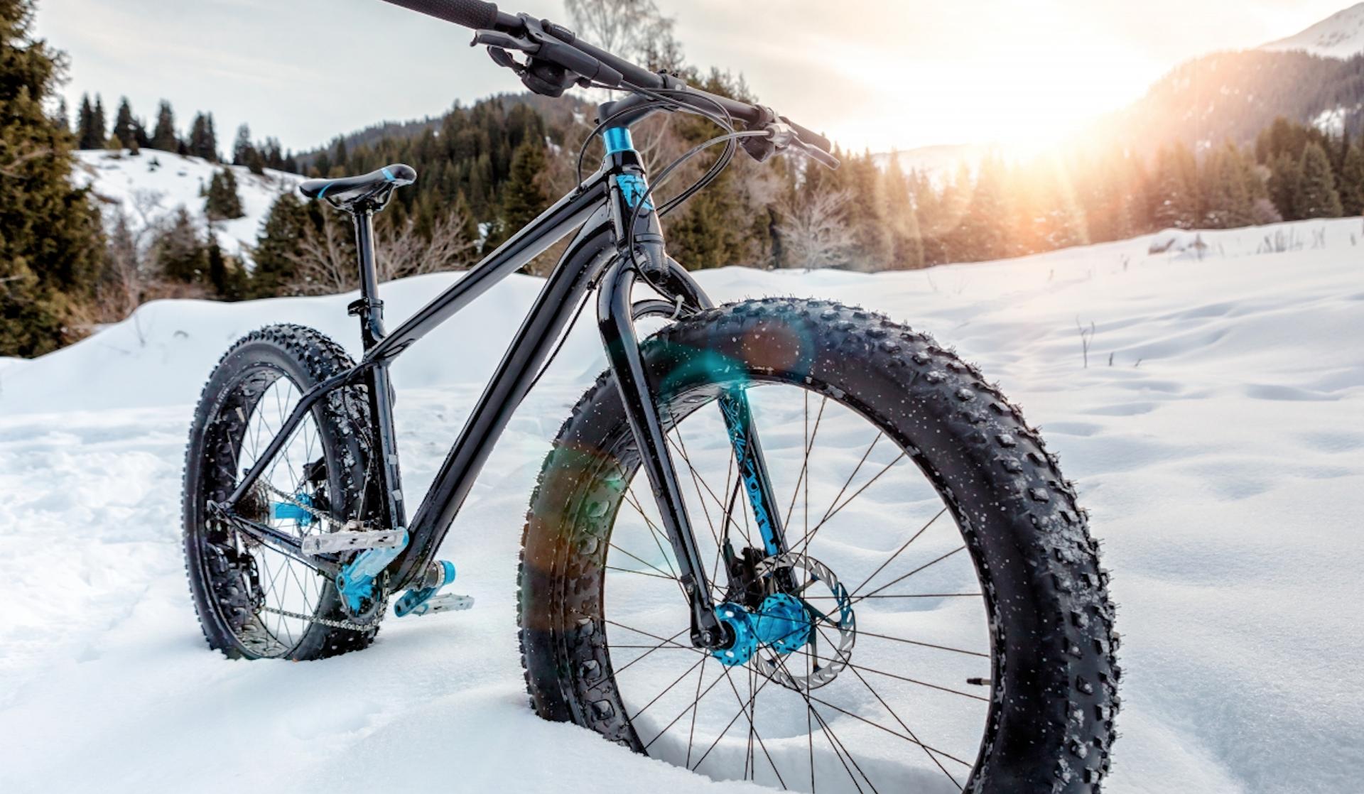 Les meilleurs «fatbikes» faits pour la neige
