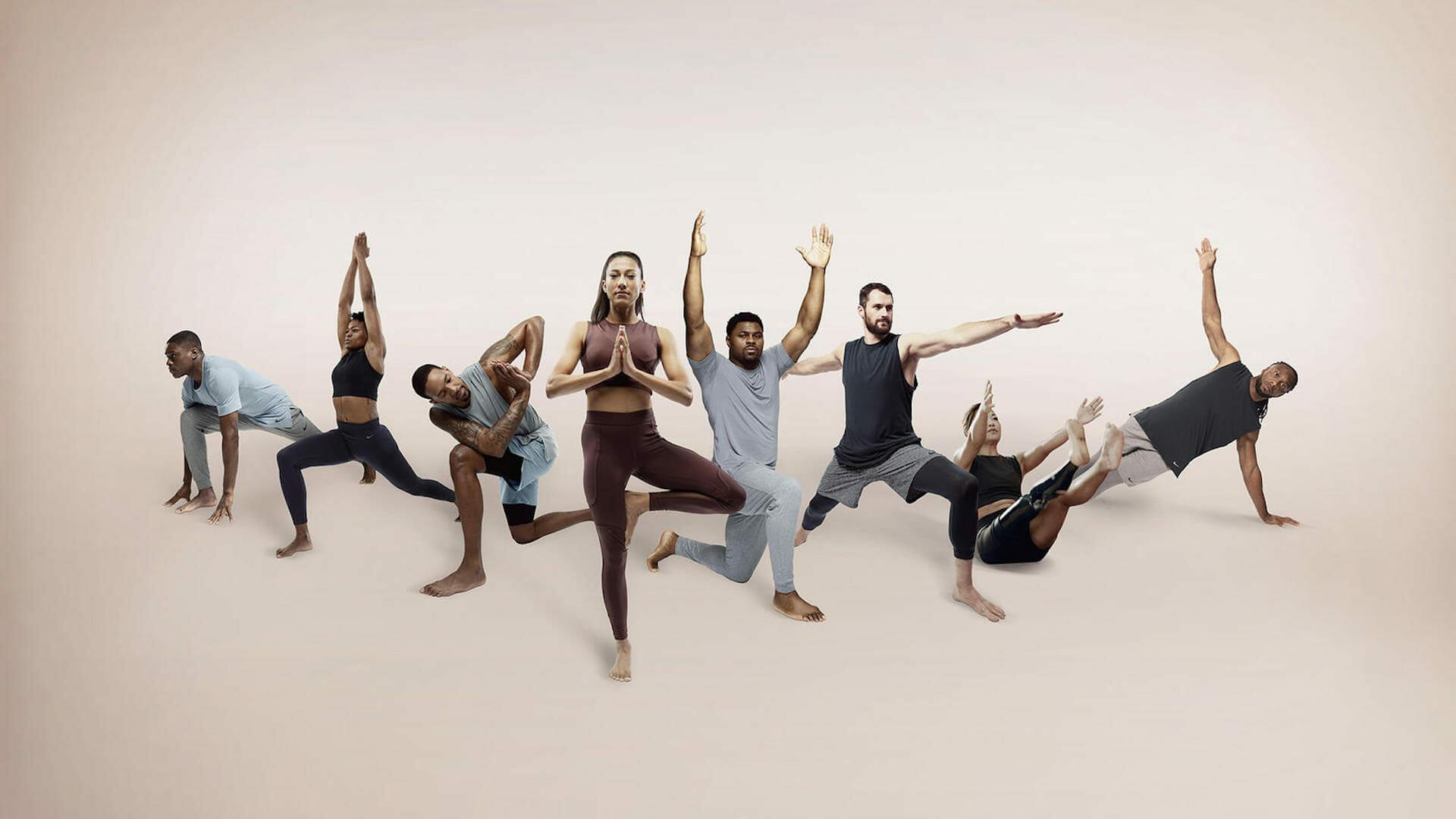 Nike lance sa première collection spéciale Yoga