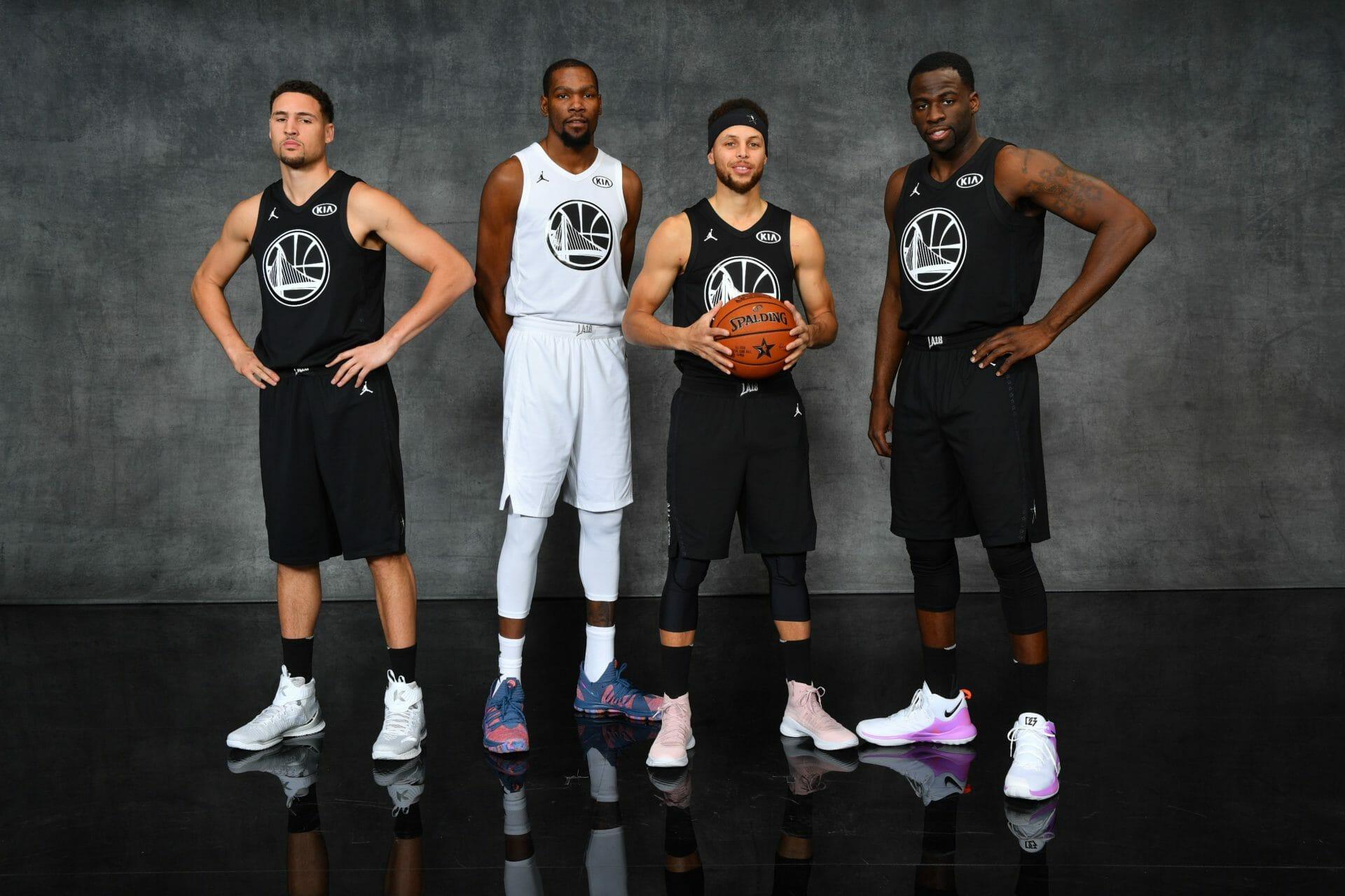L'évolution des maillots NBA du All-Star Game depuis plus d'un demi-siècle