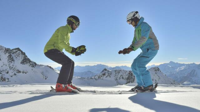 Beside Sport - Exercices à faire avant de descendre les pistes -