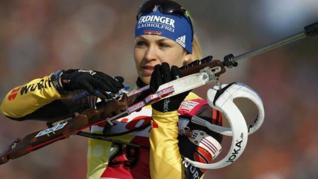 Retour sur un monstre du sport: Magdalena Neuner alias «Shooting Stars»
