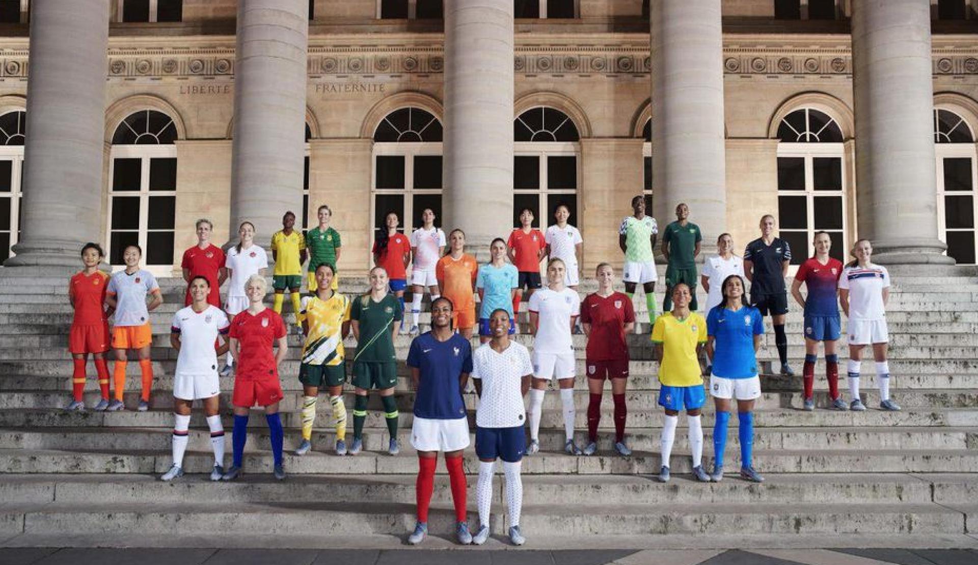 Les maillots Nike pour la Coupe du monde féminine 2019