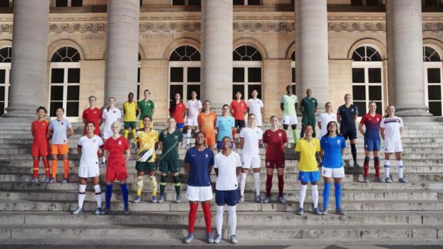 Beside Sport - Les maillots Nike pour la Coupe du monde féminine 2019 -
