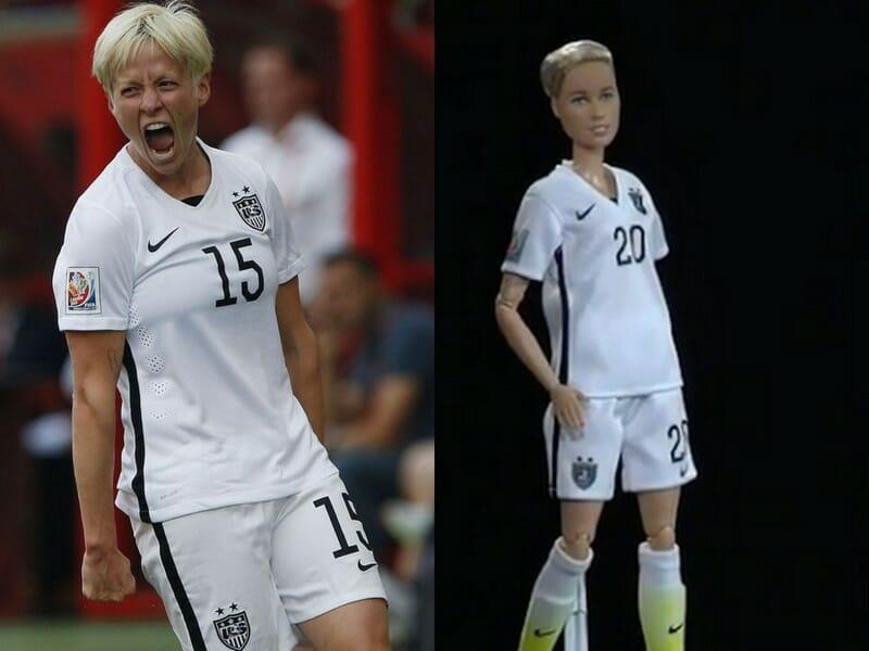 Beside Sport - Ces sportives qui ont le droit à leur poupée Barbie -  -