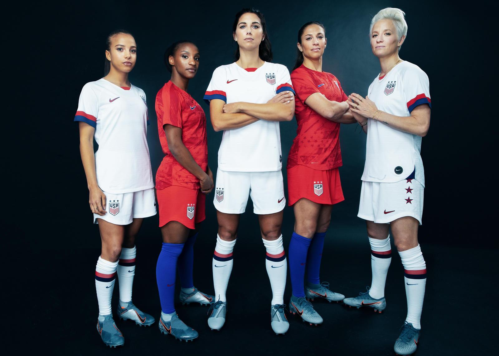 Beside Sport - Les maillots Nike pour la Coupe du monde féminine 2019 -  -