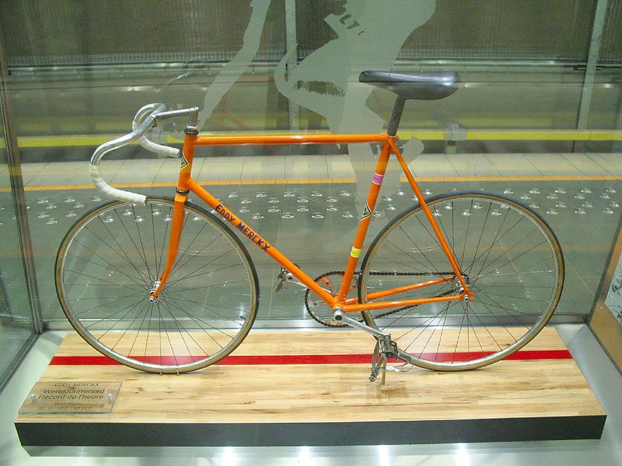 Beside Sport - Record de l'heure, Merckx au top pendant 28 ans - Le vélo d'Eddy Merckx -