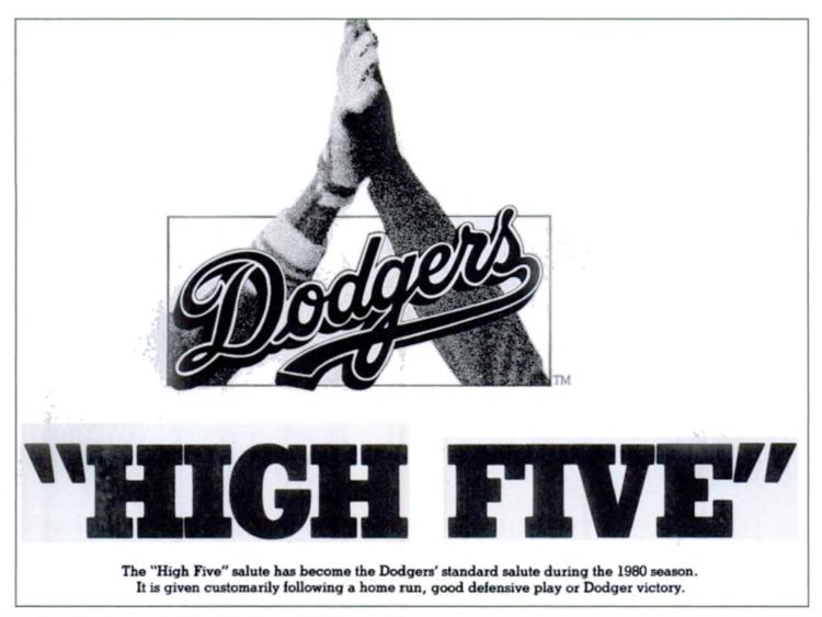 Beside Sport - Mais d'où vient le fameux «high five»? -  -