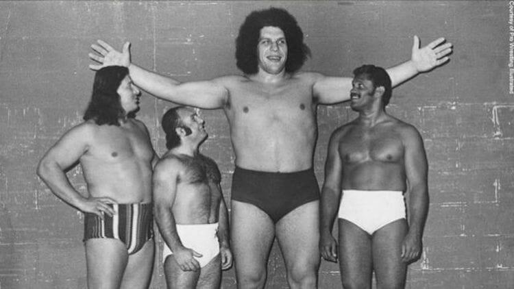 Beside Sport - André «The Giant» Roussimoff, un catcheur pas comme les autres -  -