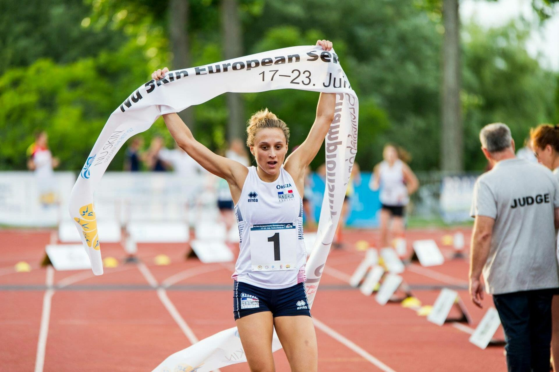 Beside Sport - Marie Oteiza, la pentathlète d'aujourd'hui et de demain -  -