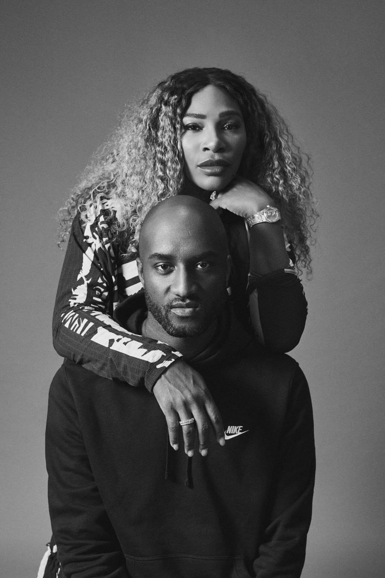 Beside Sport - Quand Serena Williams devient la muse de Virgil Abloh - La complicité entre le créateur et sa muse -