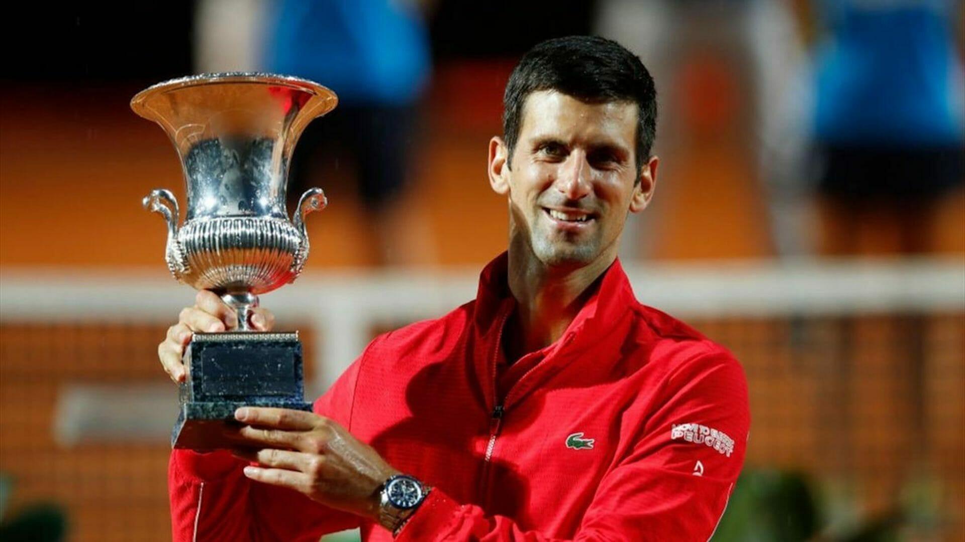 Les 8 joueurs qui ont remporté le plus de Masters 1000