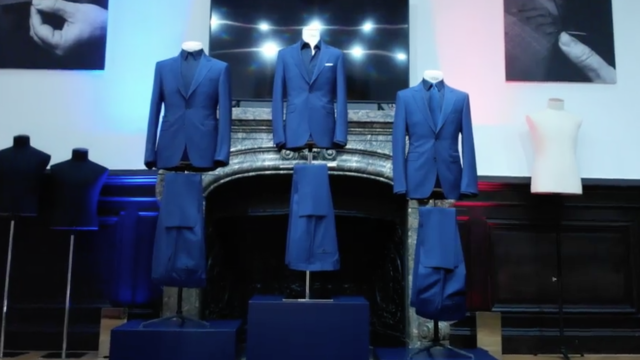 Beside Sport - Smalto dévoile sa tenue de ville «2 Etoiles» -