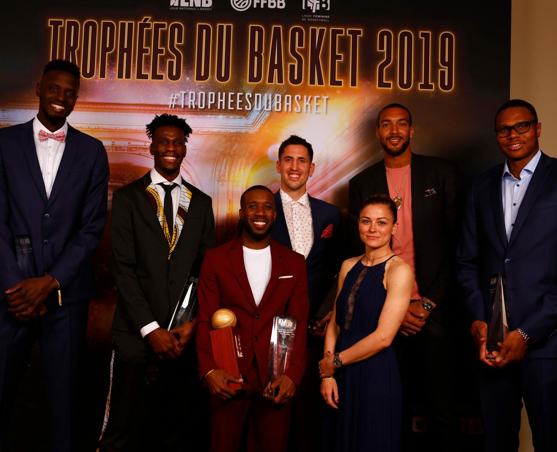 Beside Sport - La soirée des Trophées du Basket, nous y étions! - Le Cinq majeur de l'année en LFB avec Rudy Gobert et Laure Boulleau -