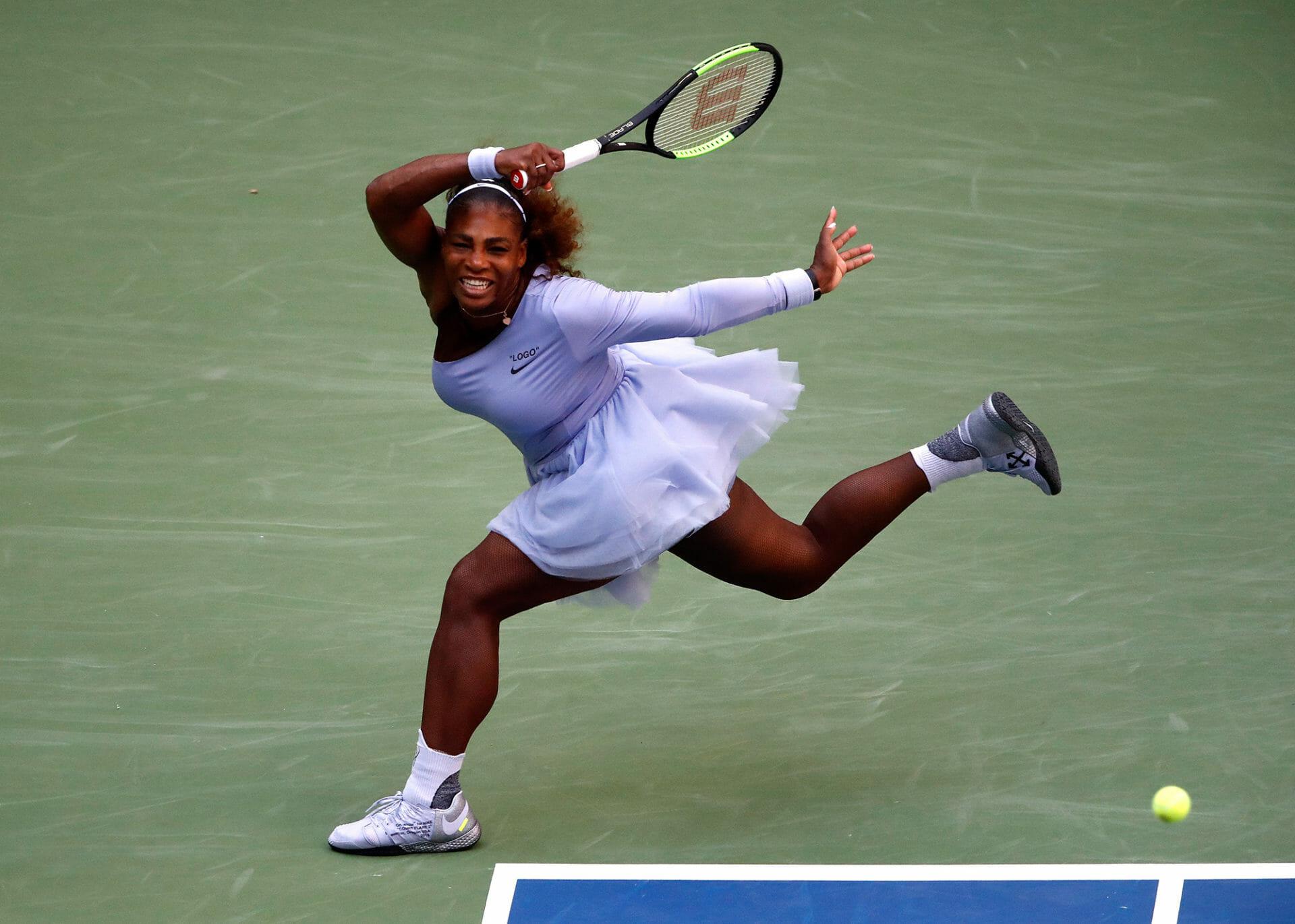 Beside Sport - Quand Serena Williams devient la muse de Virgil Abloh - Le tutu qui avait fait tant parler -