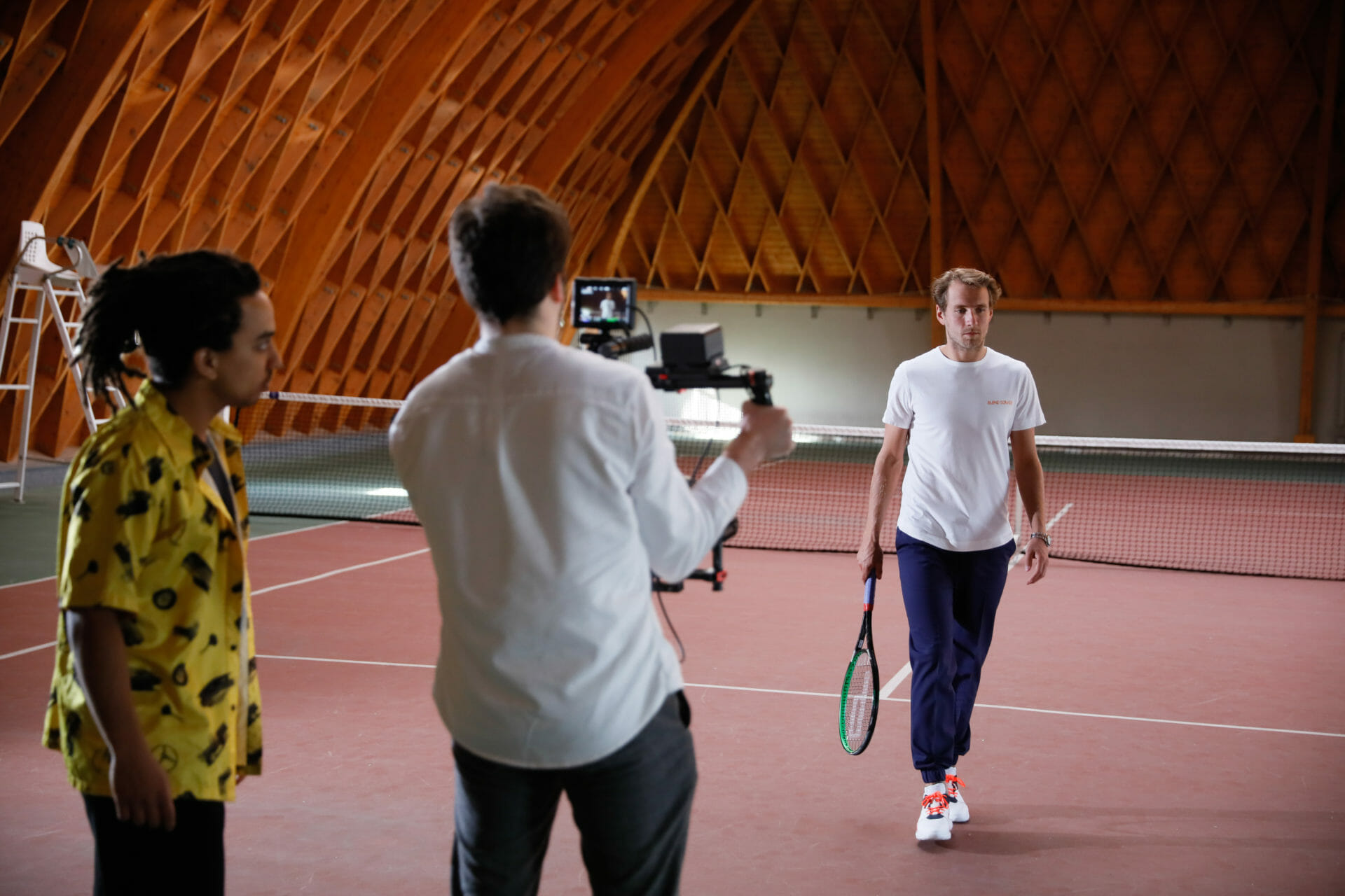 Beside Sport - Lucas Pouille et sa compagne lancent «Blond Som Üs» -  -