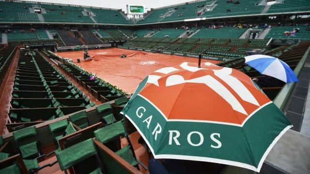 3 anecdotes qui mêlent Roland-Garros et la pluie