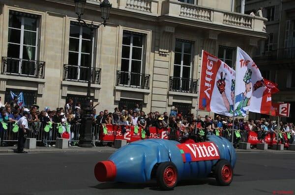 Beside Sport - Les voitures du tour de France les plus insolites -  -